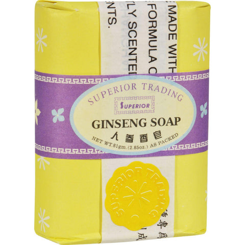 Superior Ginseng Soap - 2.85 Oz