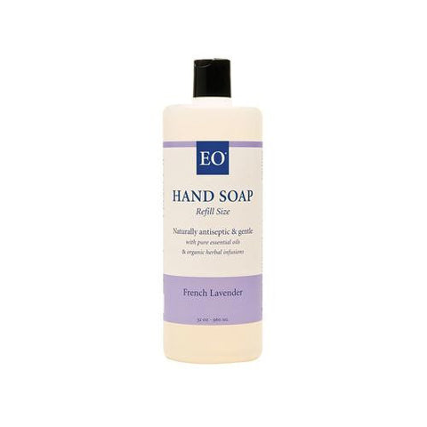 Eo Products Liquid Hand Soap French Lavender - 32 Fl Oz