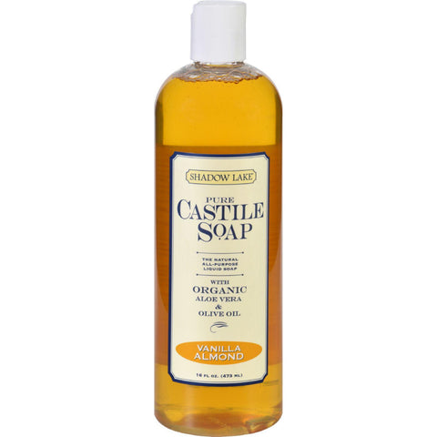 Shadow Lake Castile Soap - Vanilla Almond - 16 Oz