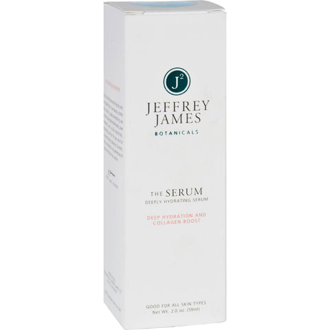 Jeffrey James Botanicals Facial Serum - The Serum - Deeply Hydrating - 2 Oz