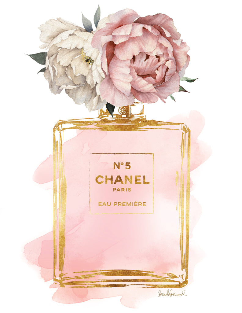 Gold Chanel and Peony