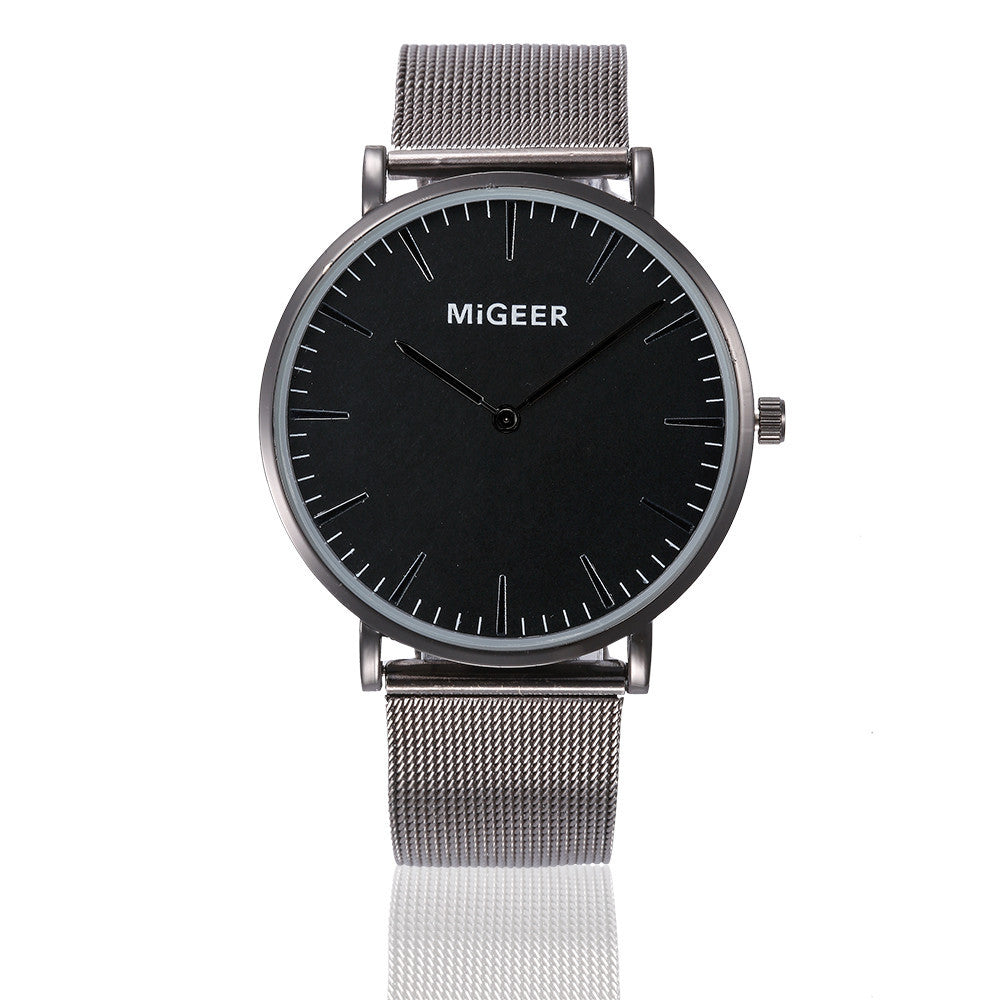 Classic Steel Strap Quartz Watch