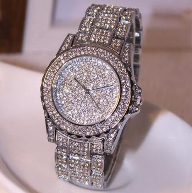 Luxury Women's Bling Crystal Dress Watch
