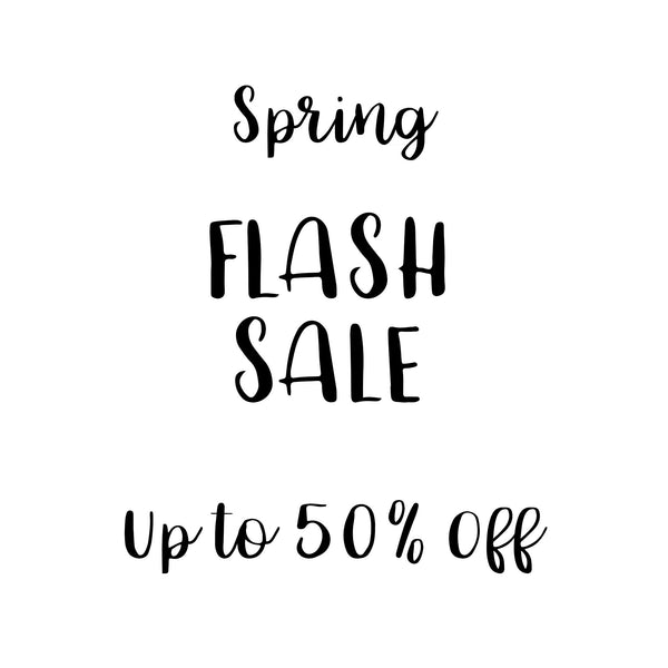 Flash Sale 20-50% Off