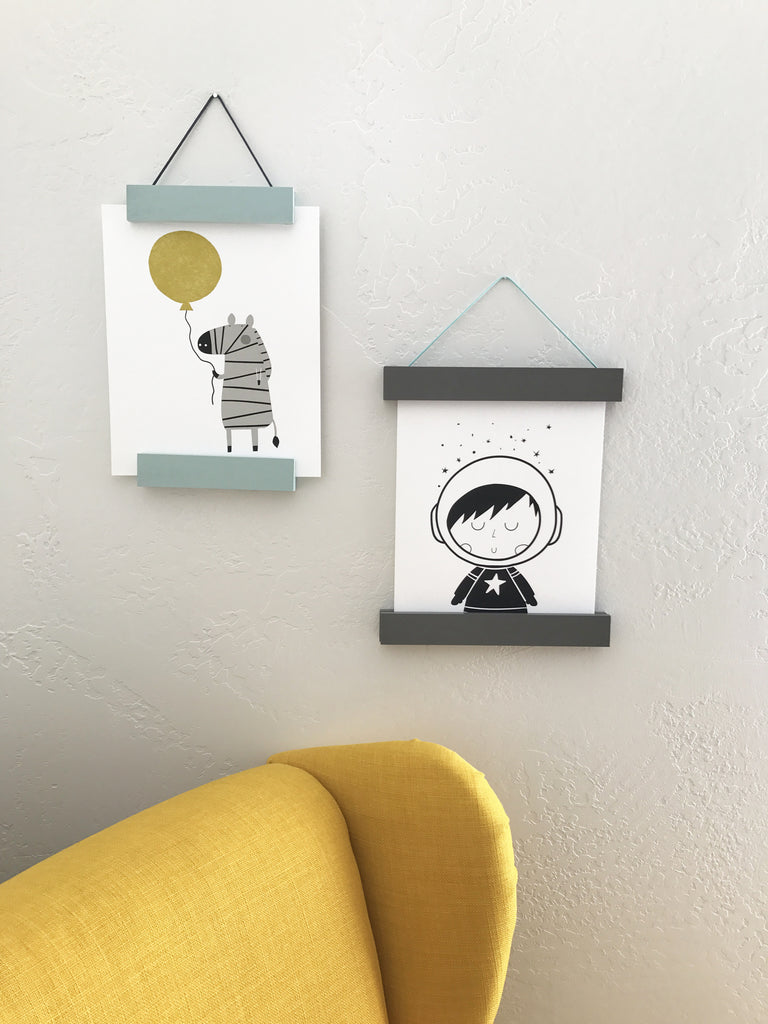 Gray Hanging Frame