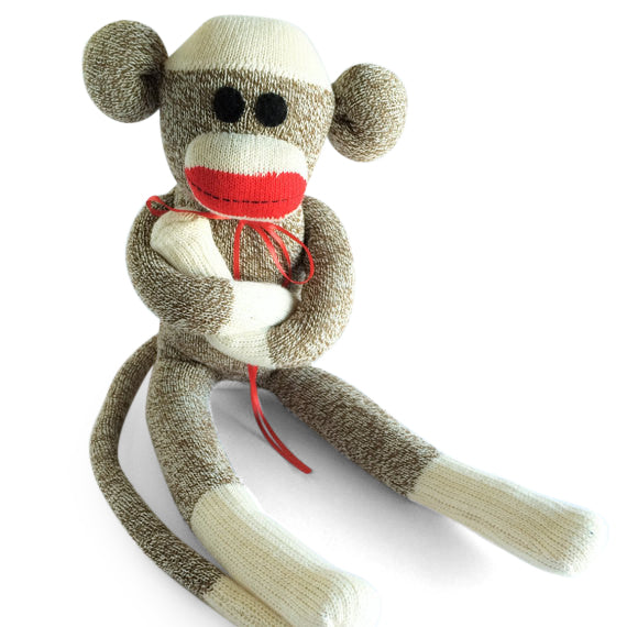 Oliver, Sock Monkeys - Peach Stream