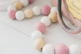 Pretty in Pink Bead Garland