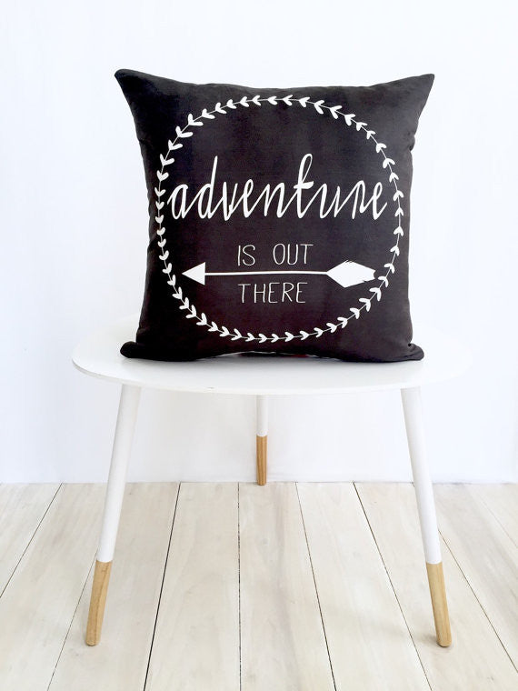 Adventure Is Out There Pillow Cover