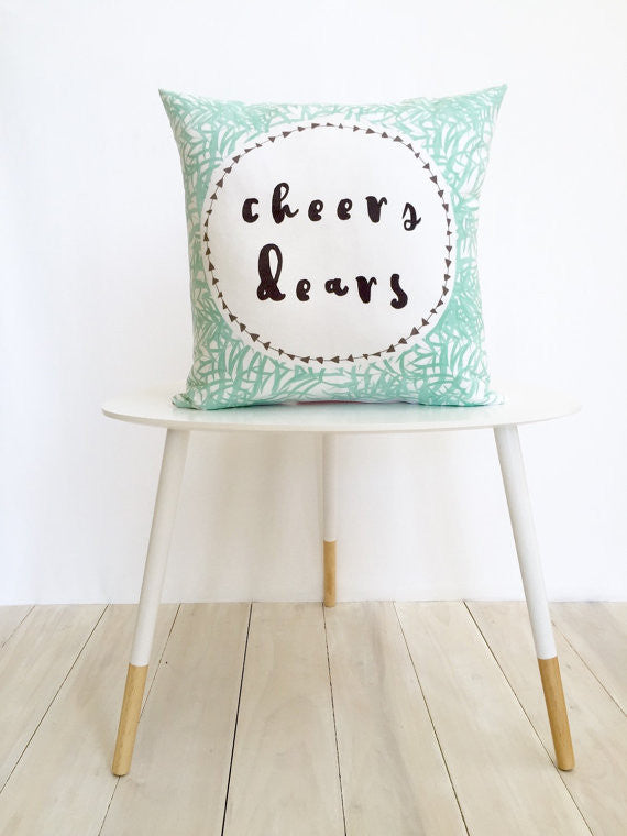 Cheers Deers Pillow Cover