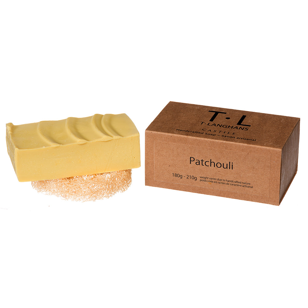 Patchouli Brick Handcut 180g - 210g