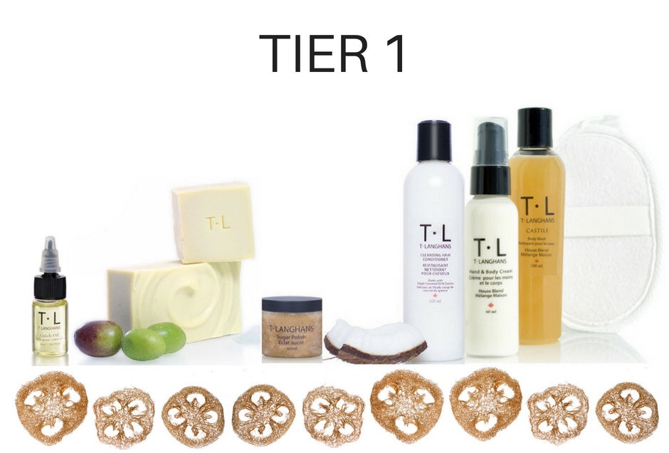 T•LANGHANS•CARES CUSTOM SUBSCRIPTION BOX ~ BLISSFUL SIX (6 Month Subscription)