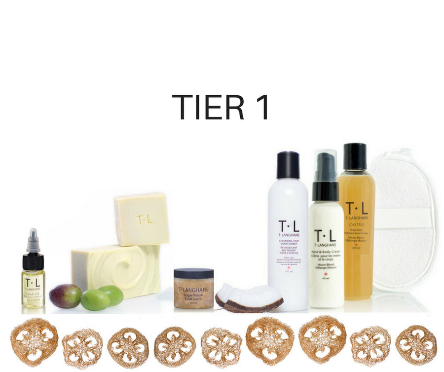 T•LANGHANS•CARES CUSTOM SUBSCRIPTION BOX ~ Spa Four You (4 Month Subscription)