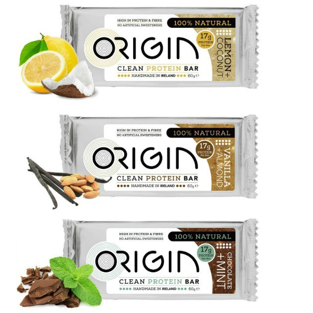 Origin Protein Bars - All Flavours