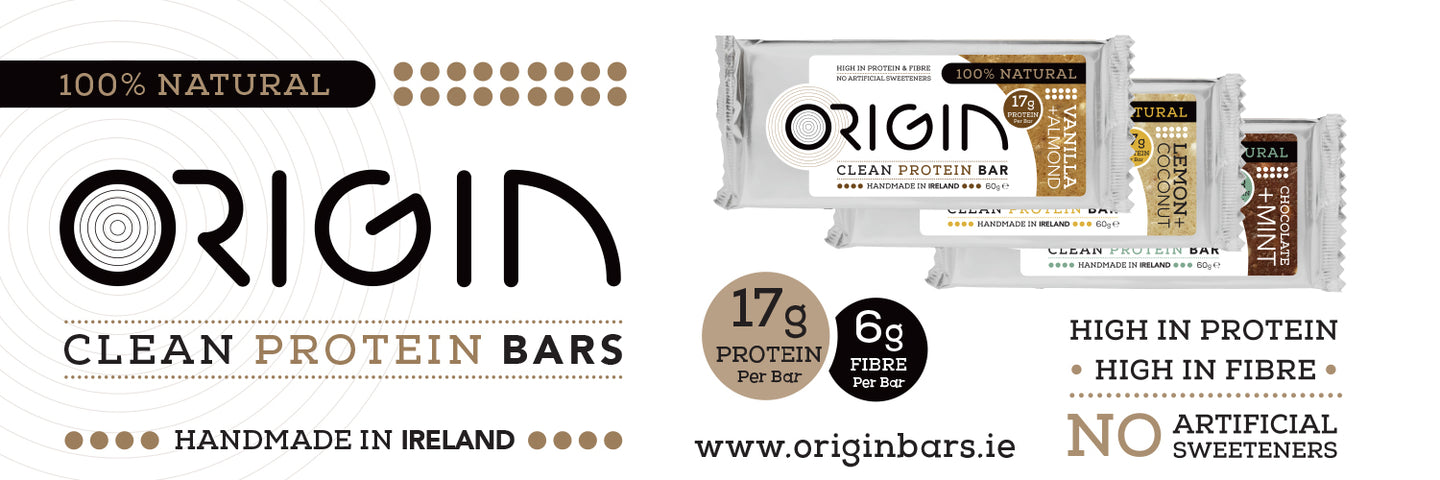 Handmade Clean Origin Protein Bars