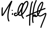 Niall Harty Signature