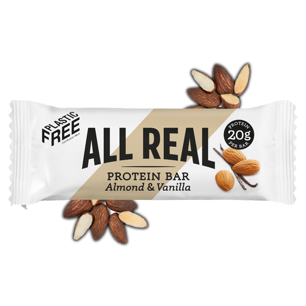 Almond + Vanilla Natural Protein Bars
