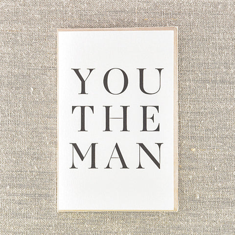 You the man, Congratulations, Pike Street Press, Pike Street Press- Pike Street Press
