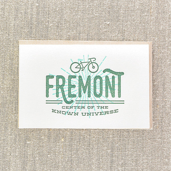 Fremont center of the known universe