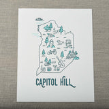 Capitol Hill Doodle, Seattle/ Northwest, Pike Street Press, Pike Street Press- Pike Street Press