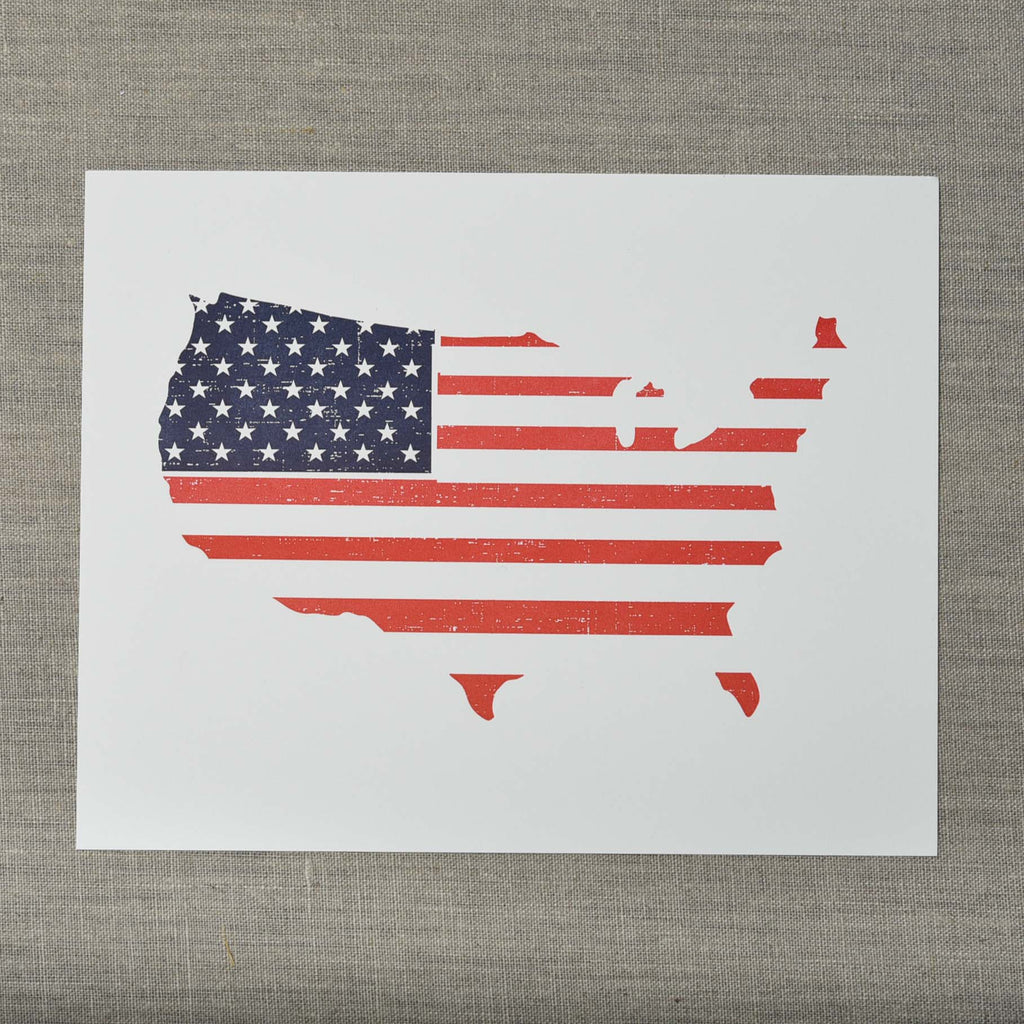 Flag States Letterpress Art Print, Seattle/ Northwest, Pike Street Press, Pike Street Press- Pike Street Press