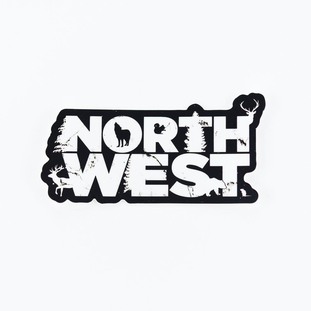 Northwest Sticker, Seattle/ Northwest, Pike Street Press, Pike Street Press- Pike Street Press
