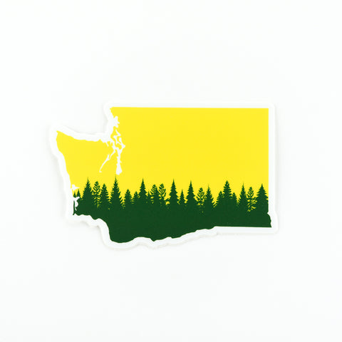 WA State Trees Sticker, Seattle/ Northwest, Pike Street Press, Pike Street Press- Pike Street Press