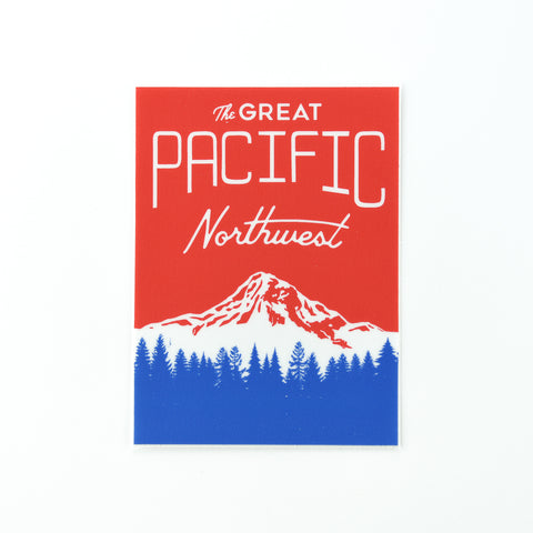 Great PNW Sticker, Seattle/ Northwest, Pike Street Press, Pike Street Press- Pike Street Press