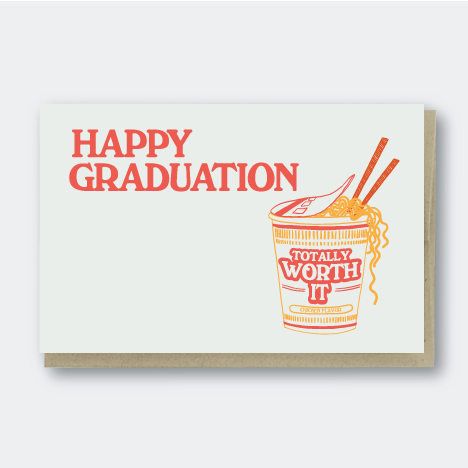 Grad Ramen Worth It, Congratulations, Pike Street Press, Pike Street Press- Pike Street Press