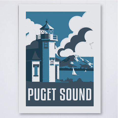 Lighthouse Art Print, , Pike Street Press, Pike Street Press- Pike Street Press