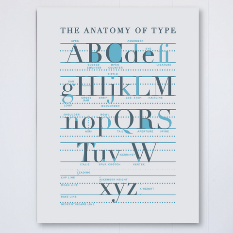 Anatomy of Type, , Pike Street Press, Pike Street Press- Pike Street Press