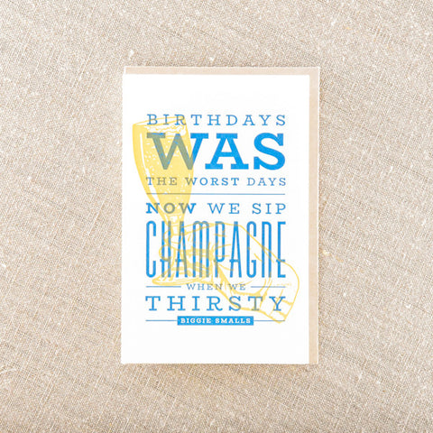 Sip Champagne On Birthday, Birthday, Pike Street Press, Pike Street Press- Pike Street Press