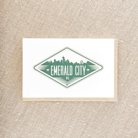 Emerald City Sign, Seattle/ Northwest, Pike Street Press, Pike Street Press- Pike Street Press