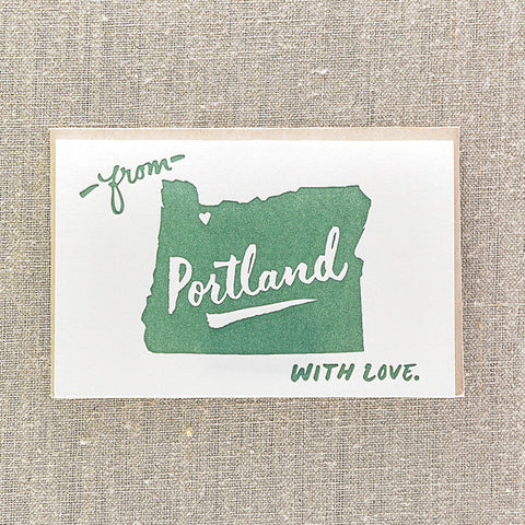 From Portland with Love