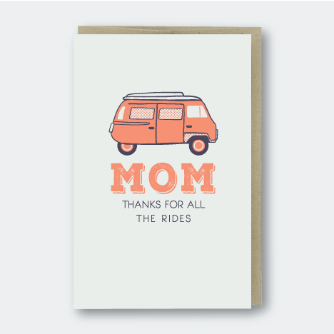 Mom Thanks For The Rides, Moms & Dad's, Pike Street Press, Pike Street Press- Pike Street Press