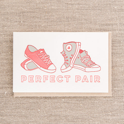 Perfect Pair Sneakers, Love, Pike Street Press, Pike Street Press- Pike Street Press