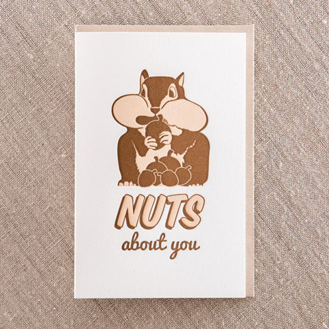 NUTS ABOUT YOU, Love, Pike Street Press, Pike Street Press- Pike Street Press