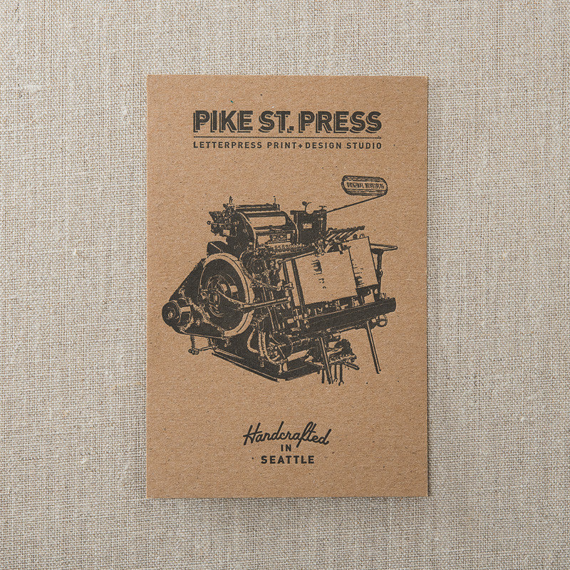 Press Postcard, , Pike Street Press, Pike Street Press- Pike Street Press