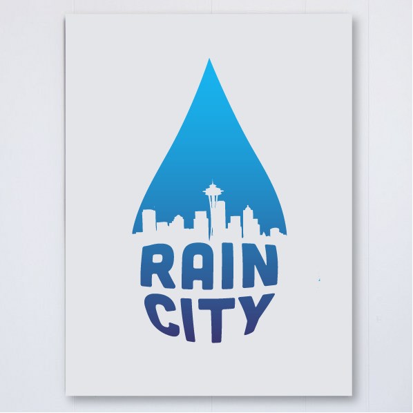 Rain City Large, , Pike Street Press, Pike Street Press- Pike Street Press