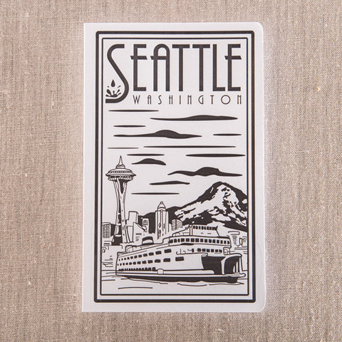 Seattle Lino- Ferry, , Pike Street Press, Pike Street Press- Pike Street Press