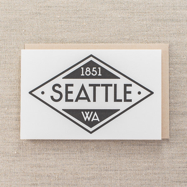 Seattle Diamond 1851, Seattle/ Northwest, Pike Street Press, Pike Street Press- Pike Street Press