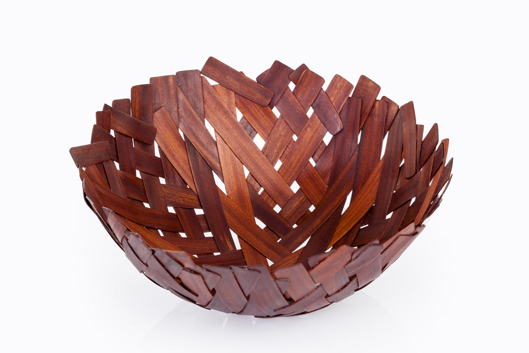Handcrafted Centerpiece Wooden Bowl - Khabodesigns