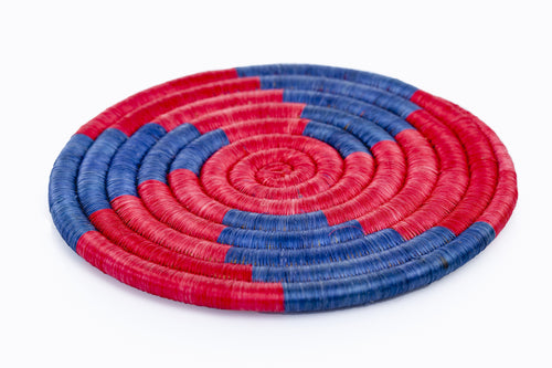 Handcrafted Woven Round Trivet - Khabodesigns