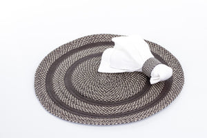 Woven Handmade Rectangular and Round Place Mats in Caña Flecha - Khabodesigns