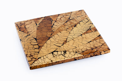 Square Handcrafted Wood Cheese Board / Serving Platter - Khabodesigns