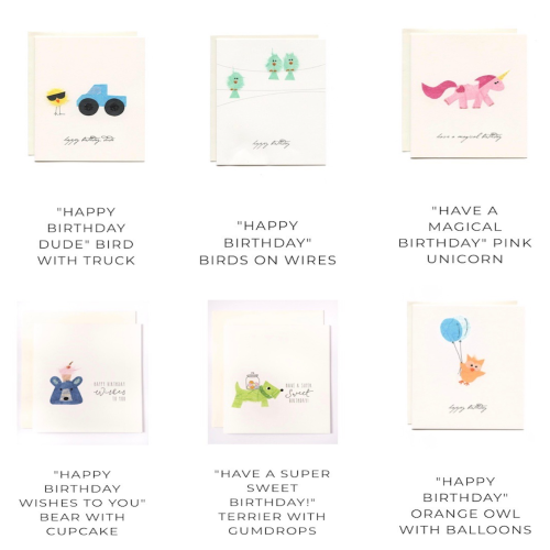 Lola - G1 - ALL - Accessories Cards - Birthday Cards<br>Style# Flaunt_1
