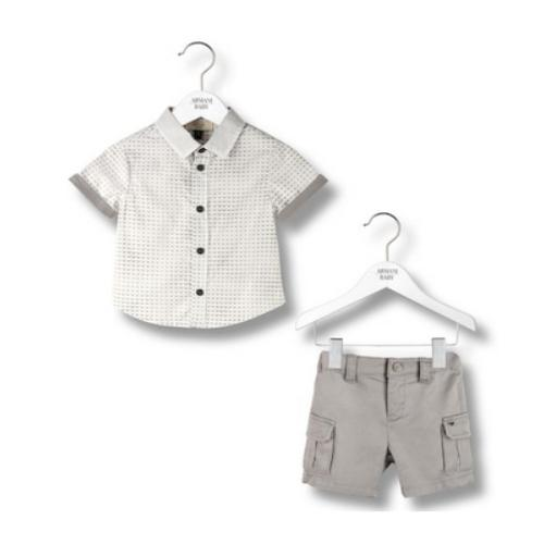 Armani Shirt & short set