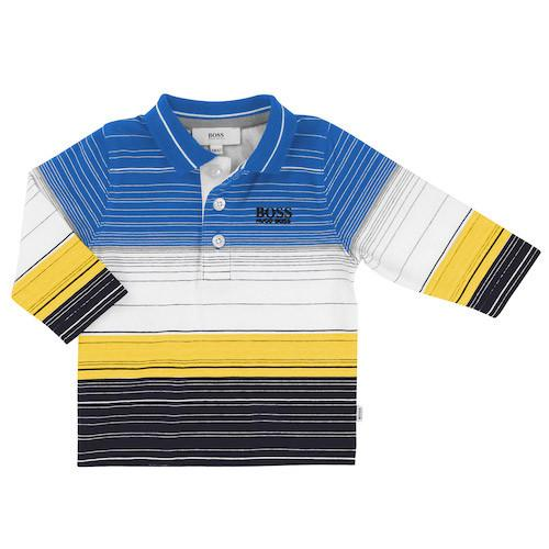 Boss long sleeve polo