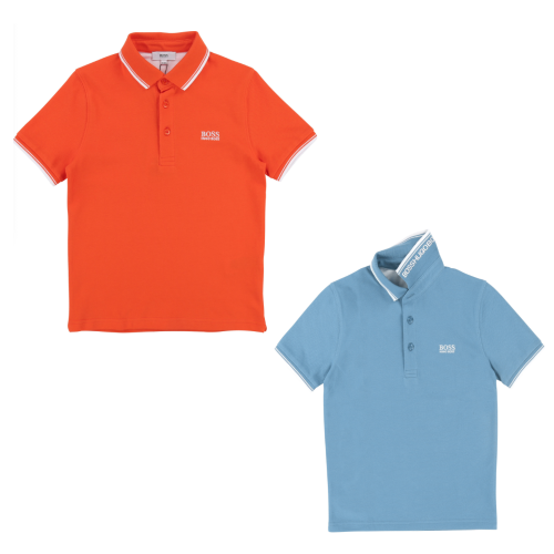 Boss short sleeve polo