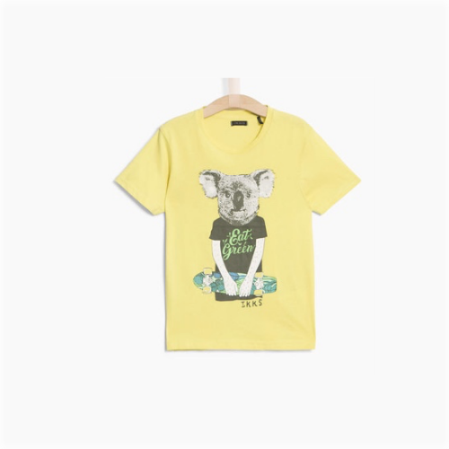 IKKS lime short sleeve tee