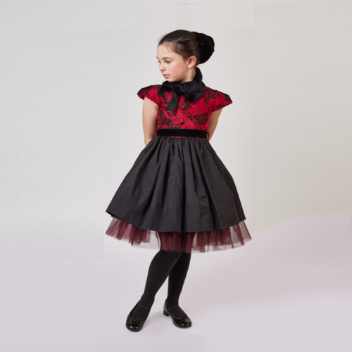 Mlle Charlotte Paris dress